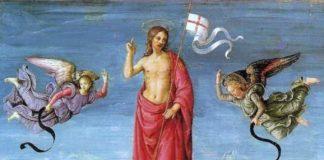 Raffaello: Krisztus feltámadása (részlet)